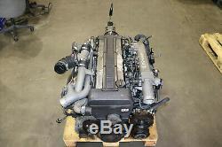 JDM Toyota Supra Soarer 1JZGTE 2.5L Twin Turbo Rear Sump Engine R154 Gearbox MT
