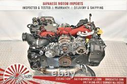 Jdm 08-14 Subaru Impreza Wrx Sti Grb 2.5l Twin Scroll Turbo Ej207 Engine