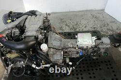 Jdm 97-02 Mazda Rx7 Twin Turbo Engine With 5 Speed Manual Trans Ecu 1.3l Rotary