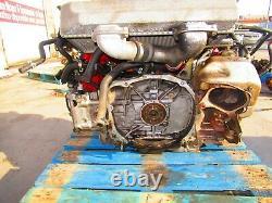 Jdm Sti Ej207 V8 Engine Vf37 Turbo Twin Scroll V-8 Motor Non Immobilizer Ecu V/8