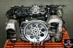 Jdm Subaru Legacy Gt 2.0l Dohc Twin Turbo Engine Jdm Ej206-tt Ej206