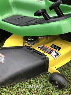 John Deere X304 AWS Lawn Mower Tractor 42 Deck 17HP Kawasaki Twin Engine