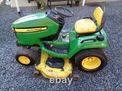 John Deere X500 Lawn Mower Tractor 54 Deck Kawasaki 25 HP Twin kawasaki Engine