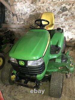 John Deere X720 Lawn Mower Tractor 60 Drive Over Deck Kawasaki 23HP Twin Engine