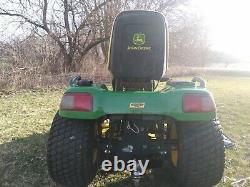 John Deere X720 Lawn Mower Tractor Kawasaki 27HP Fuel Injected Twin Cyl Engine