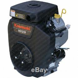 Kawasaki FH721D-S01 25 HP Side Shaft Horizontal V-twin 1-1/8 Engine Motor NEW