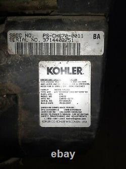 Kohler Command 22hp V-Twin Cylinder engine CH670-0011