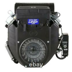 LIFAN 1-1/8 in. 24 HP V-Twin Electric Start Keyway Shaft Gas Engine