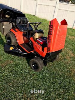 MTD yard machines riding mower 18/42 Twin Engine. Double Blade