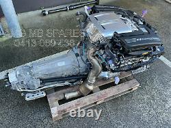 Mercedes-Benz AMG M177 V8 Twin Turbo Engine & 9 speed transmission 4 WHEEL DRIVE