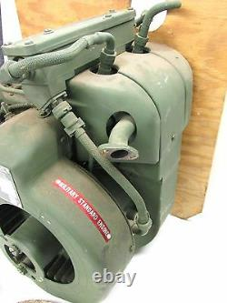 NOS! W-F INDUSTRIES MILITARY STANDARD TWIN CYLINDER, 4-CYCLE ENGINE, 16 cu. In