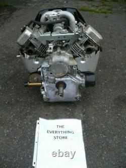 No Shipping Briggs And Stratton 20hp Twin Cylinder Engine In Running Condition