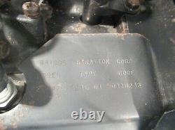 OEM Briggs Stratton 18 HP Engine 422447-1216-01 Horizontal Shaft Twin Cylinder
