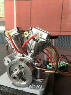 PRE SALE CISON FG-VT9 9cc V-Twin Dual Cyl 4-Stroke Air-Cooled Gasoline RC Engine