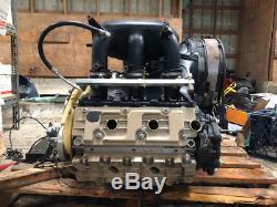 Porsche 3.6 Twin Turbo Engine