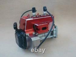 QJ 58cc Gasoline Twin Engine for KM HPI Baja Losi 5ive-B 15 RC Gas Car Truck