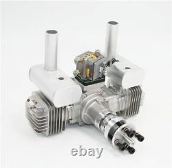 RCGF 40T SE 40CC Stinger TWIN Gas Engine NEW version with 1/4 32 slanted plugs