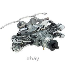 Saito Engines 182 Twin Cylinder Dual Plug DD
