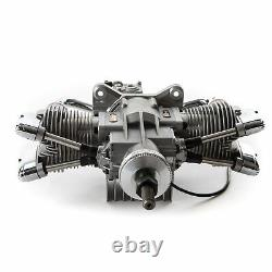 Saito Engines FG-61TS 61cc 4-Stroke Gas Twin Engine CC