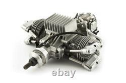 Saito Fg-57 Ts 4-stroke Twin Cylinder Gasoline Engine Galaxy Rc