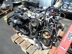 Subaru Legacy GT JDM RHD 2L Twin Turbo Engine Motor BH B4 EJ20 5Spd Transmission