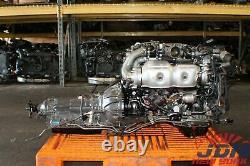 TOYOTA ARISTO 3.0L TWIN TURBO VVTi ENGINE TRANS ECU FREE SHIPPING JDM 2JZ-GTE #1