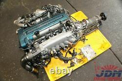 TOYOTA ARISTO 3.0L TWIN TURBO VVTi ENGINE TRANS ECU FREE SHIPPING JDM 2JZ-GTE #7