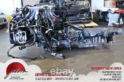 Toyota 1JZGTE Twin Turbo JDM MK3 2.5L Turbo 1jz ECU Auto trans Rear sump