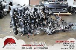Toyota 1JZGTE Twin Turbo JDM MK3 2.5L Turbo 1jz ECU wiring Auto trans front sump