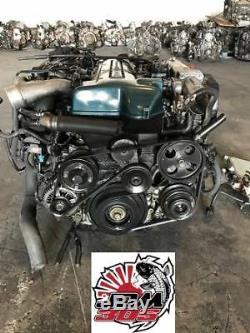 Toyota Aristo 3.0l 6 Cyl Twin Turbo Vvti Engine Transmission Ecu Jdm 2jz Gte