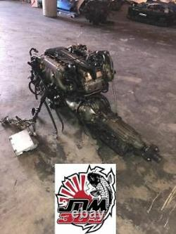 Toyota Aristo 3.0l Twin Turbo Engine, Transmission, Harness & Ecu Jdm 2jzgte