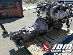 Toyota Aristo Supra Twin Turbo Vvti Engine 5spd Trans Jdm 2jzgte 2jz 0133560