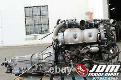 Toyota Aristo Supra Twin Turbo Vvti Engine Trans Loom Ecu Jdm 2jzgte 2jz 074667