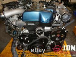 Toyota Aristo Twin Turbo Engine Transmission Loom & Ecu Jdm 2jzgte