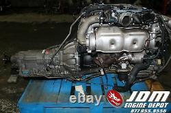 Toyota Soarer Sc300 Twin Turbo Engine Trans Jdm 2jzgte 0620830 Free Shipping