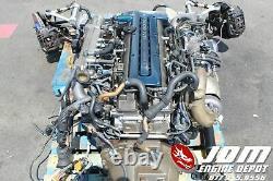 Toyota Supra Twin Turbo Engine 6spd Trans Jdm 2jzgte 2jz 0706942 Free Shipping