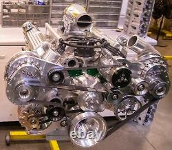 Turn-Key Twin Supercharged 427 Ford Stroker Crate Engine 1000+HP Holley MPEFI