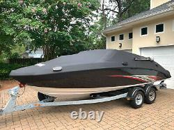 Yamaha 2015 SX210 Twin Engine Jet Boat Galvanized Trailer Meticulously Cared For